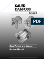 Gear Pumps and Motors- Service Manual -Bln-10168