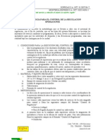 Metodologia Para El Control de La Regulacion