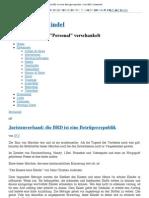 Juristenverband- die BRD ist eine Betrügerrepublik » Der BRD-Schwindel - 11. September 2012