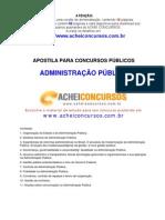 Apostila de Administração Pública para Concursos