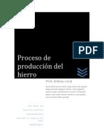 Proceso de Produccion de Hierro (1)