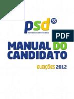 Manual do Candidato do PSD 2012