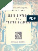 Breve Historia del Teatro Mexicano - Antonio Magaña