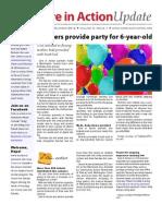 Summer 2012 newsletter, Care in Action Minnesota