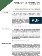 análise de textos da arqueologia públicas nos últimos 10 anos