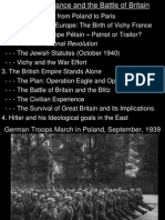 Lecture 5 - Occupied France and Battle of Britain