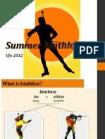 Summer Biathlon