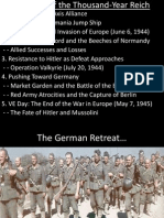 Lecture 10 - Downfall of the Thousand-Year Reich