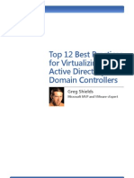Wp Top12best Practices for Virtualizing Active Directory Domain Controllers Greg Shields