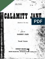 Calamity Jane Score