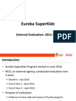 Eureka SuperKidz External Evaluation 2011-2012