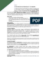 contrato u Orden de Compra o de Servicio(1)