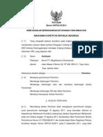 Putusan Mahkamah Konstitusi No 58 Th 2011 Tentang Ketenagakerjaan