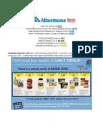 Best of Albertson's (9/12 - 9/18)