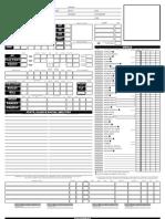 Character Sheet - D&D3.5 - Neceros