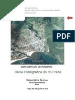 COMPLEMENTAÇÃO DO DIAGNÓSTICO DA BACIA HIDROGRÁFICA DO RIO FRADE