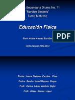 PRESENTACION - Clases Teóricas al Inicio del Ciclo Escolar