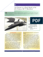 SR-71 Blackbird Rocket Plans