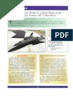 SR-71 Blackbird Rocket Plans