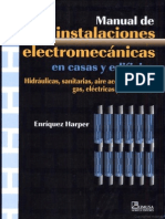 Instalaciones Electromecanicas en Casa y Edificios