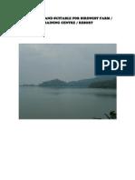 Batu Dam Land Suitable for Birdnest Farm