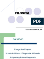 Sistematika &evolusi ( FILOGENI)