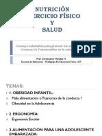 NUTRICIÓN EJERCICIO FÍSICO Y SLAUD