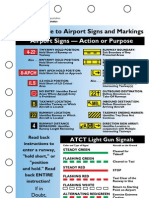 Airport Signs & Markings