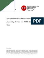 Cdma2000 Wireless IP Network Standard