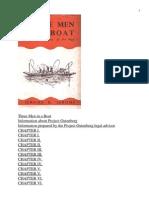 Jerome K Jerome - Three Men in a Boat