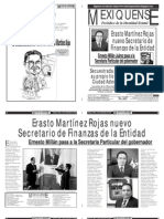 Versión impresa del periódico El mexiquense 12 septiembre 2012
