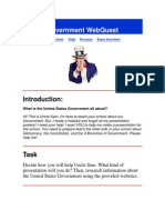 Government WebQuest