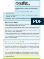 Creativecommons Informational Flyer Eng
