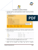 Membuat Aplikasi Sms Gateway Di Windows 7
