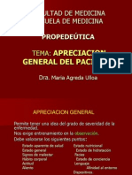 Apreciacion General Del Paciente-Agreda 2