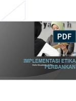 Implementasi Etika Perbankan