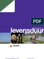 Strukton Duurzaamheidbrochure Denken in Levensduur 2012