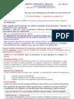 Regolamento Calcio a 7 Amatori Trentino