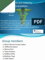 Industry Orientation