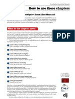 Investigative Journalism Manual How_to_use
