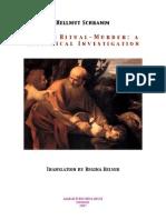 Schramm, Hellmut - Jewish Ritual Murder - A Historical Investigation (en, 1943-2007, 346 S., Text)