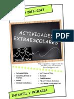 Actividades Extraescolares Curso 2012/2013