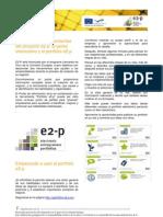Newsletter E2p ES 3 Sept