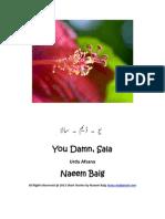 "Urdu Afsana  ""You Damn Sala"""