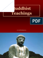 Buddhist Teachings