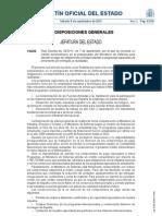BOE-A-2012-11410 - Concesión de un crédito extraordinario en el Presupuesto Armamentístico