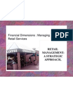 Financial Dimensions & Managing Retail Services