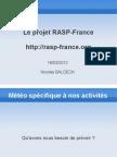Presentation Rasp France