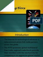 Chapter II - Trading Blocs