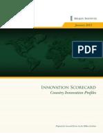 GE Innovation Scorecard